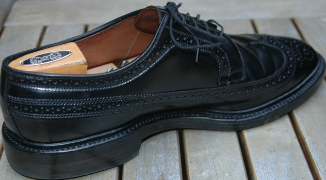 Allen Edmonds MacNeil 9177 Black Shell Cordovan