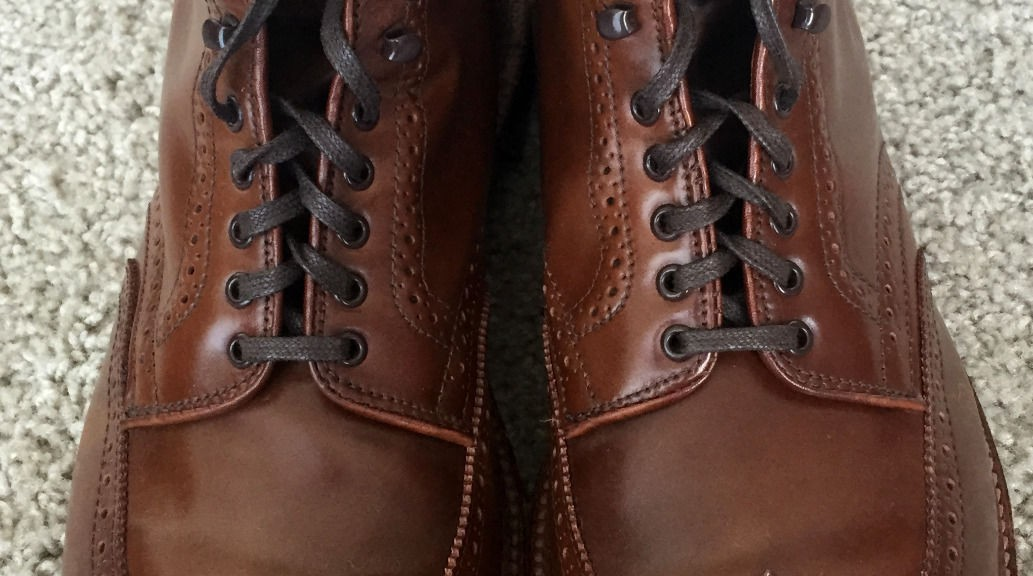 Alden Whiskey Shell Cordovan Boots 44621H