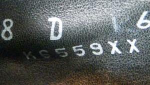 Vintage Florsheim custom code