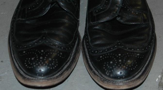 Vintage dress shoes