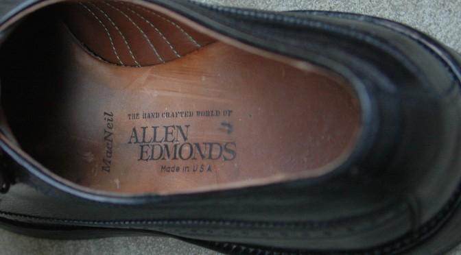 Allen Edmonds MacNeil 9157 black