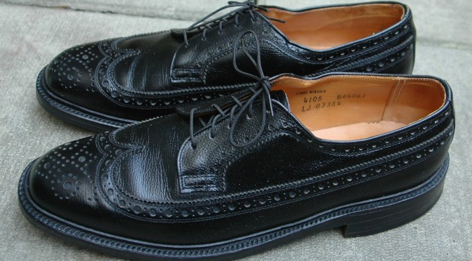 Thom McAn Bootmaster Longwing Blucher