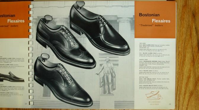Bostonian Shoe Catalog 1962