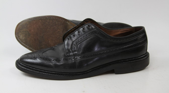 Allen Edmonds Recrafting Before