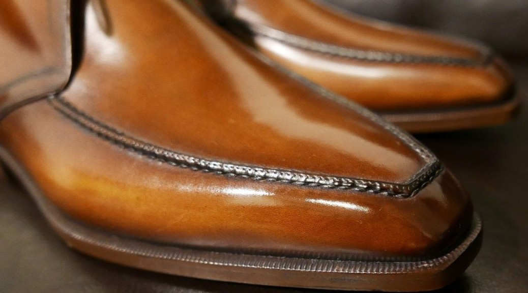 Berluti Signature Patina Chukka Boot