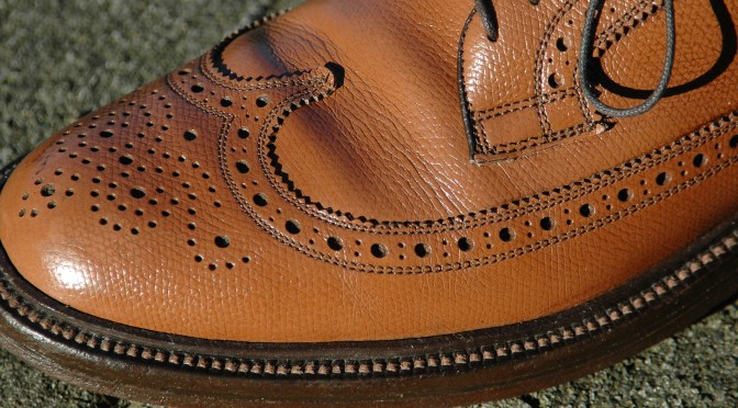 Vintage Nettleton Longwing Blucher