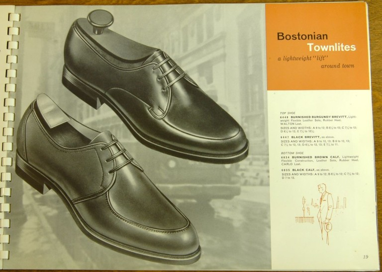 Bostonian Shoe Models 6448 6447 6034 6035