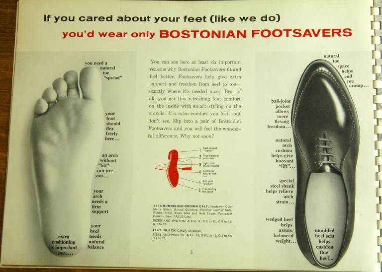 1962 Bostonian Footsavers