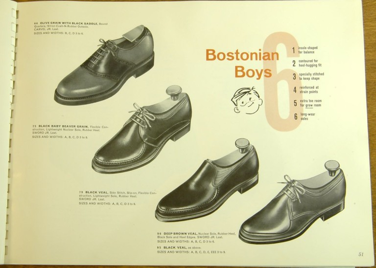 Bostonian Shoe Kids Models