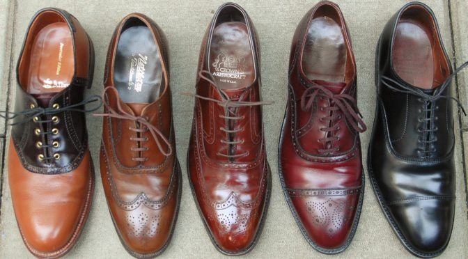 Alden Nettleton Johnston & Murphy Cordwainer Wright Allen Edmonds