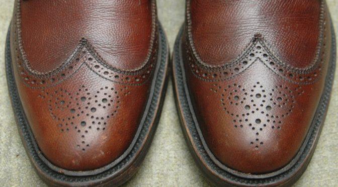 Lexol shoe conditioning