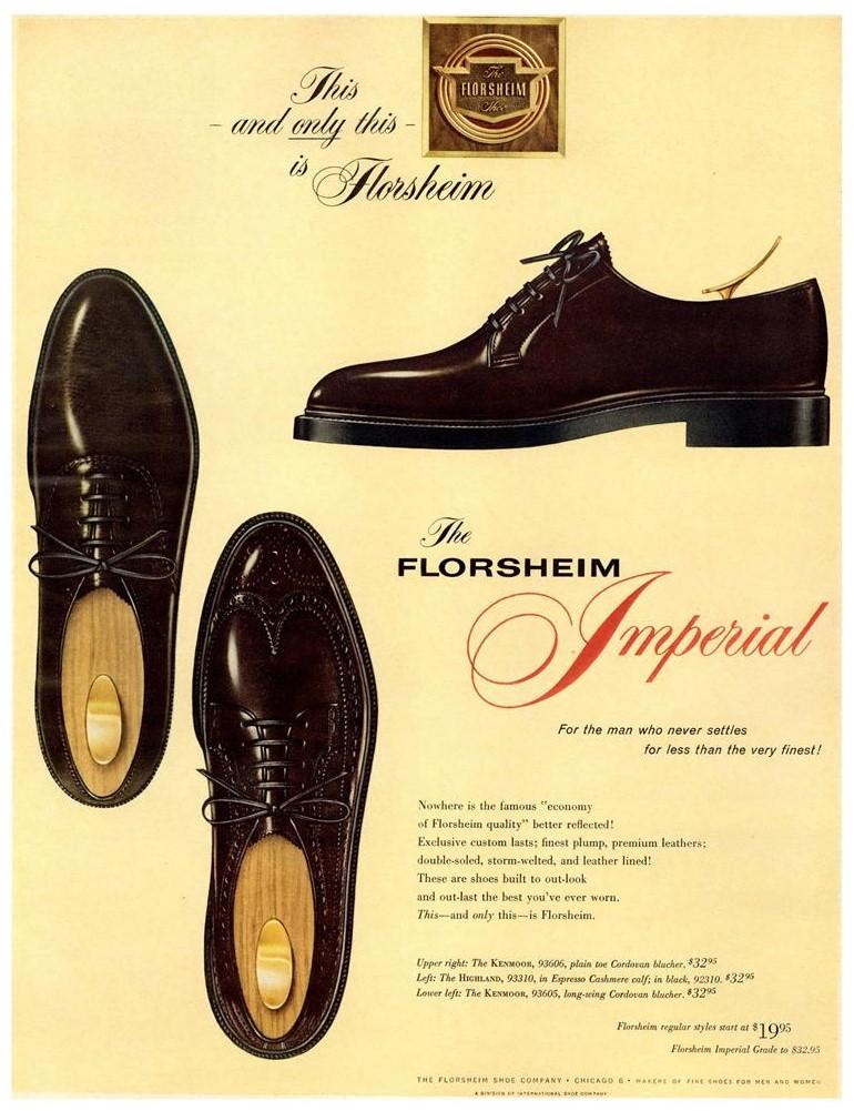 Florsheim 1961 Ad