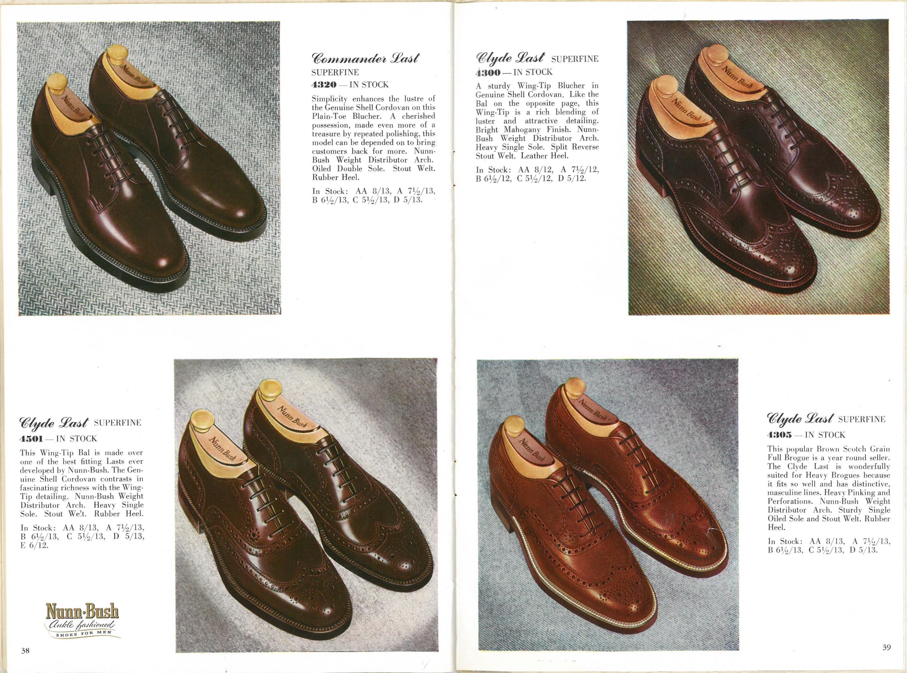1954 Nunn-Bush Catalog