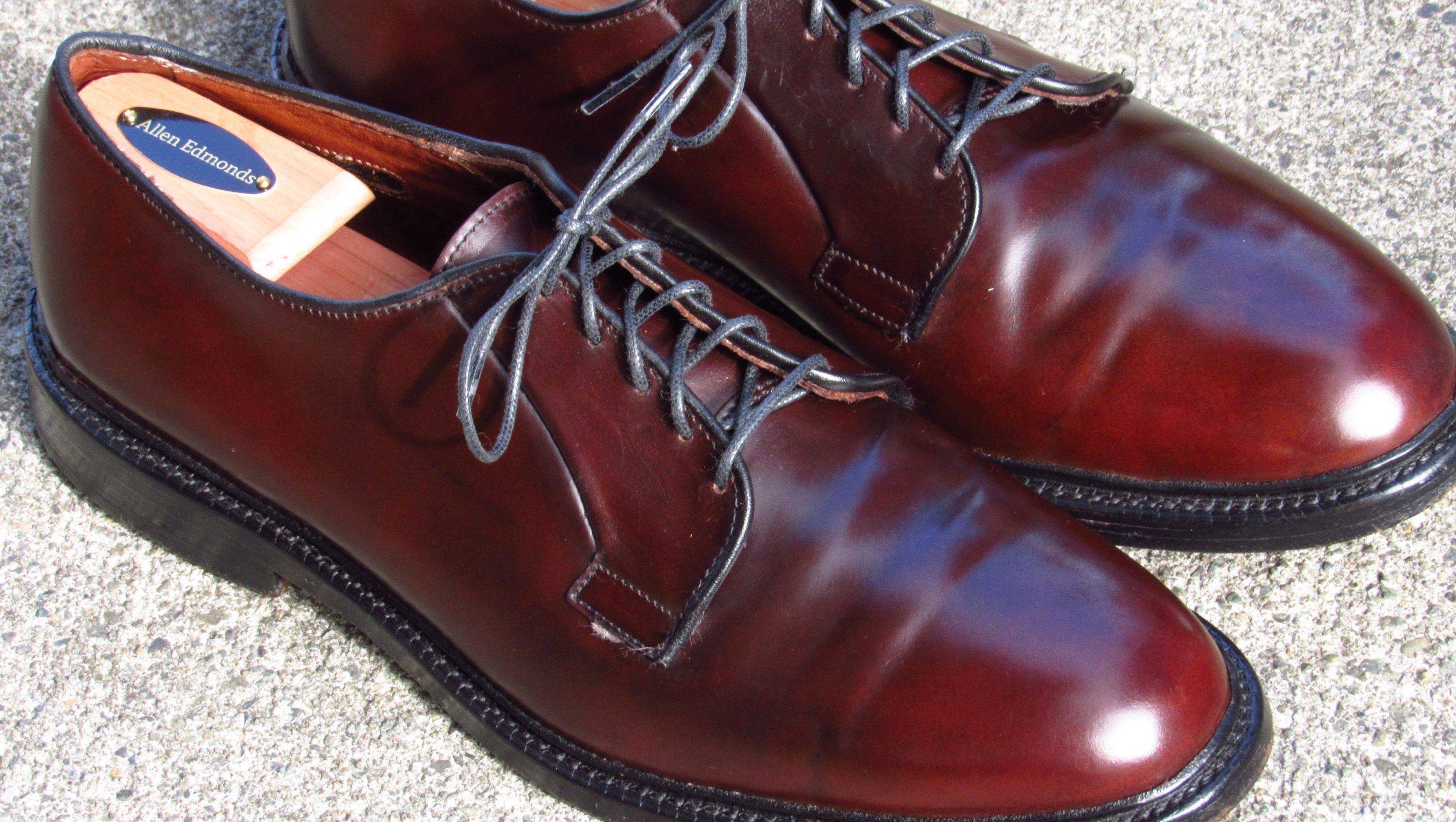 Allen Edmonds Cordovan Leather Shoes