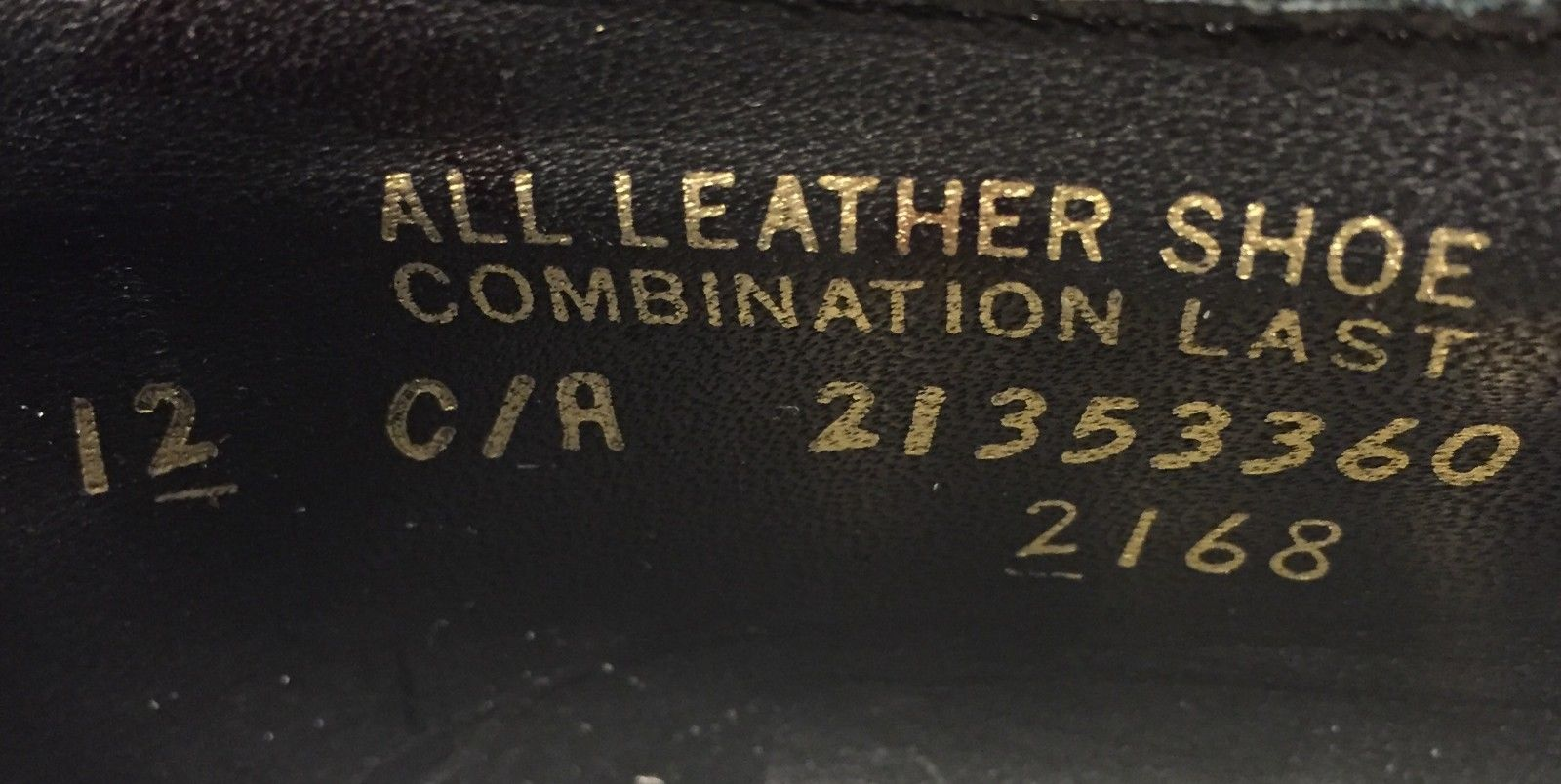 Hanover Shoe Model Number