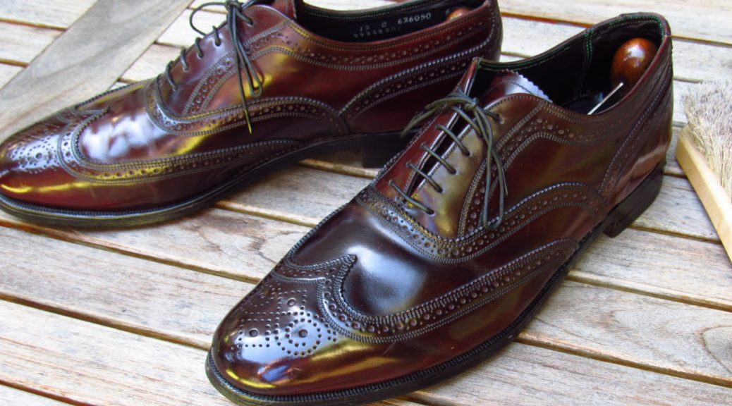Florsheim Imperial Shell Cordovan Wingtip