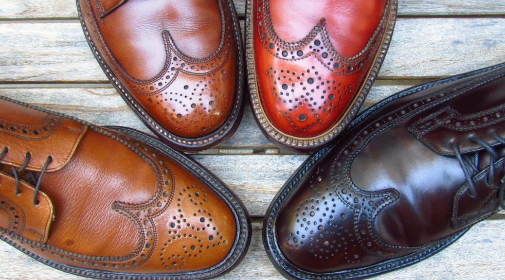 Vintage mens shoes
