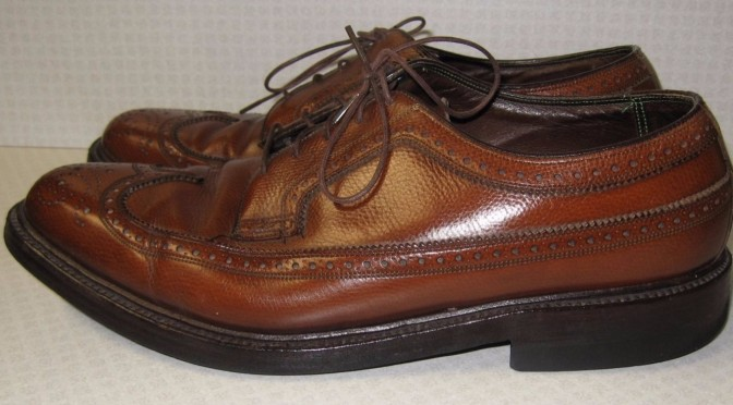 Florsheim Royal Imperial 97625 Creased Shoe