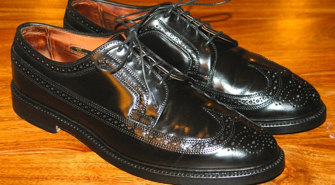 Allen Edmonds MacNeil Black Shell Cordovan 9177