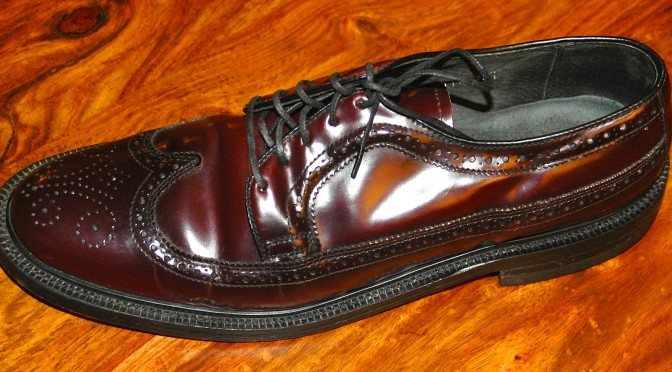 Corrected Grain Leather Stafford
