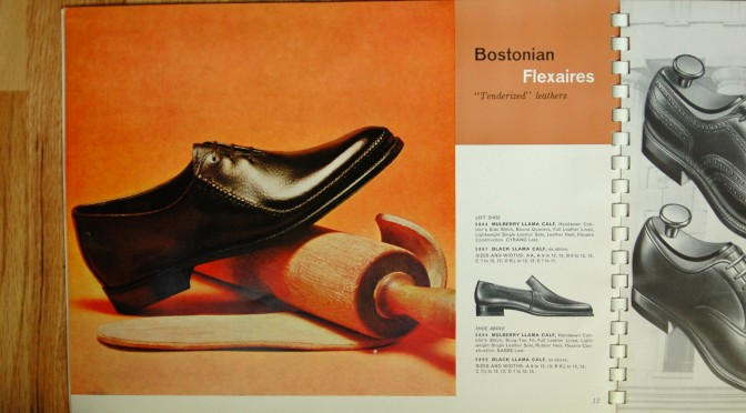 Bostonian Shoe Catalog 1962