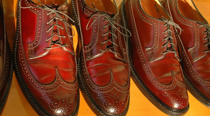 Florsheim Imperial 93605 Shell Cordovan Longwing Wingtip
