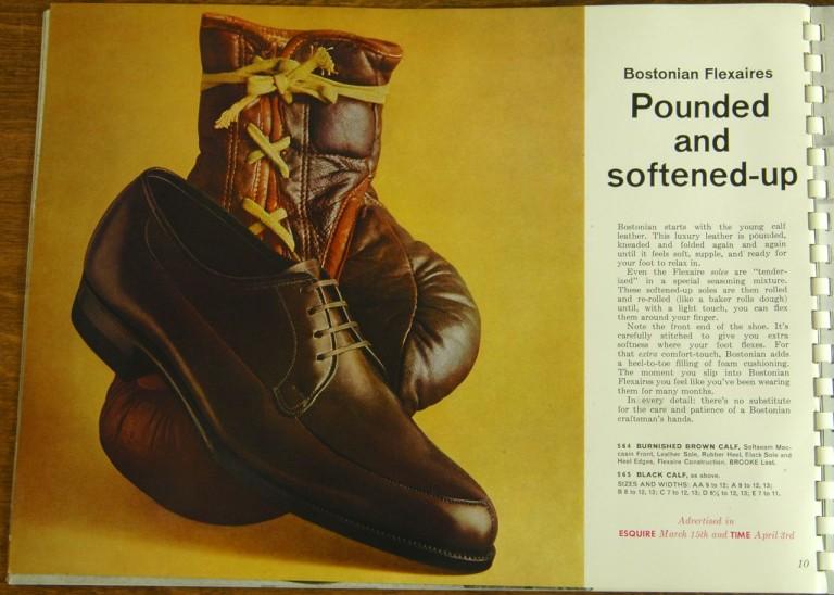 Bostonian Shoe Models 564, 565
