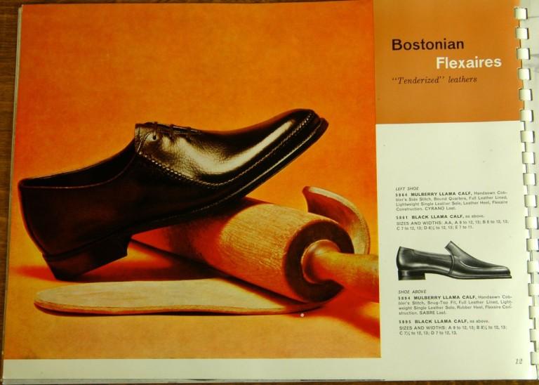 Bostonian Shoe Models 5864, 5861, 5894, 5895