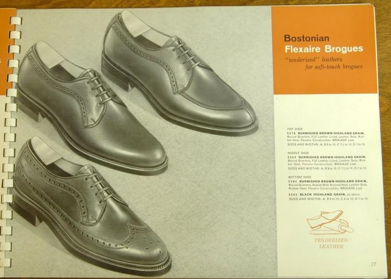 Bostonian Shoe Models 5570 5562 5564 5565