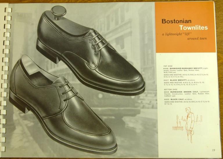 Bostonian Shoe Models 6448 6447 6034 6035