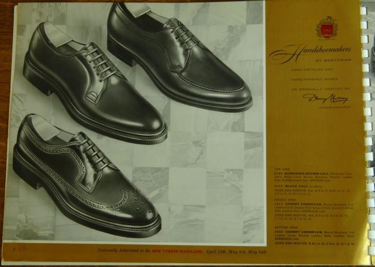 Bostonian Shoe Handshoemakers Models 2048 2034 2035 2016 LWB Longwing NST PTB