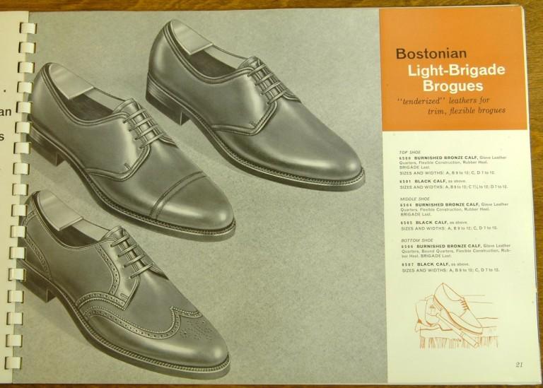 Bostonian Shoe Models 6500 6501 6504 6505 6506 6507