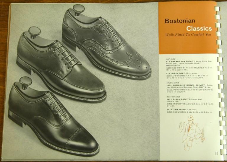 Bostonian Shoe Models 618 619 6610 6825 6826