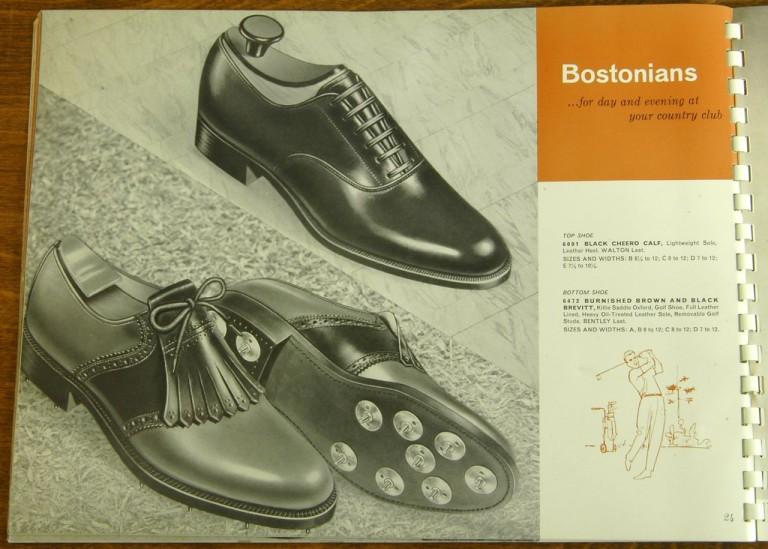 Bostonian Shoe Models 6001 6472