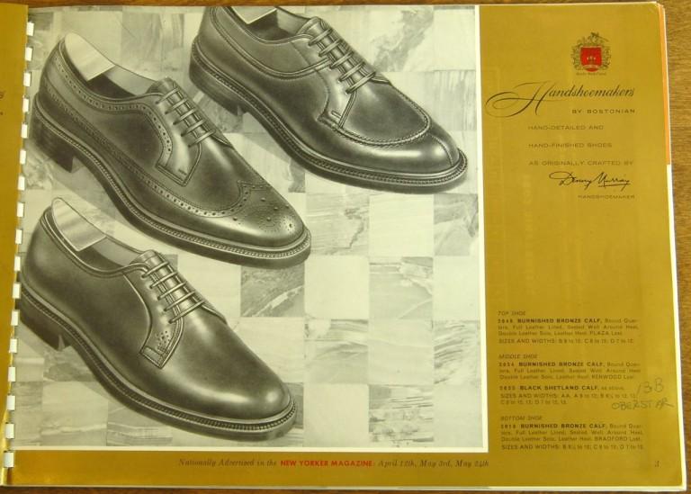 Bostonian Shoe Models