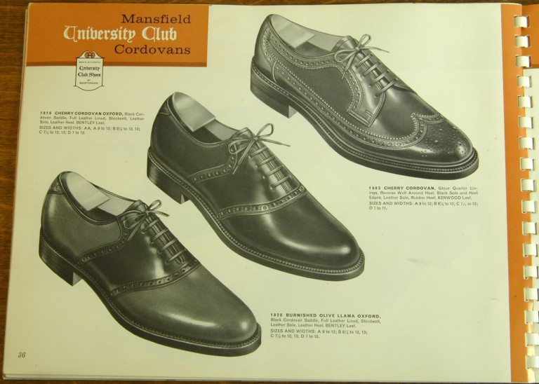 Bostonian Shoe Models 1810 1903 1828 Shell Cordovan