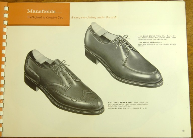 Bostonian Shoe Models 1764 1765 1766