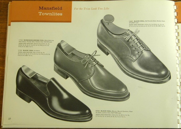 Bostonian Shoe Models 1752 1753 1981 9283