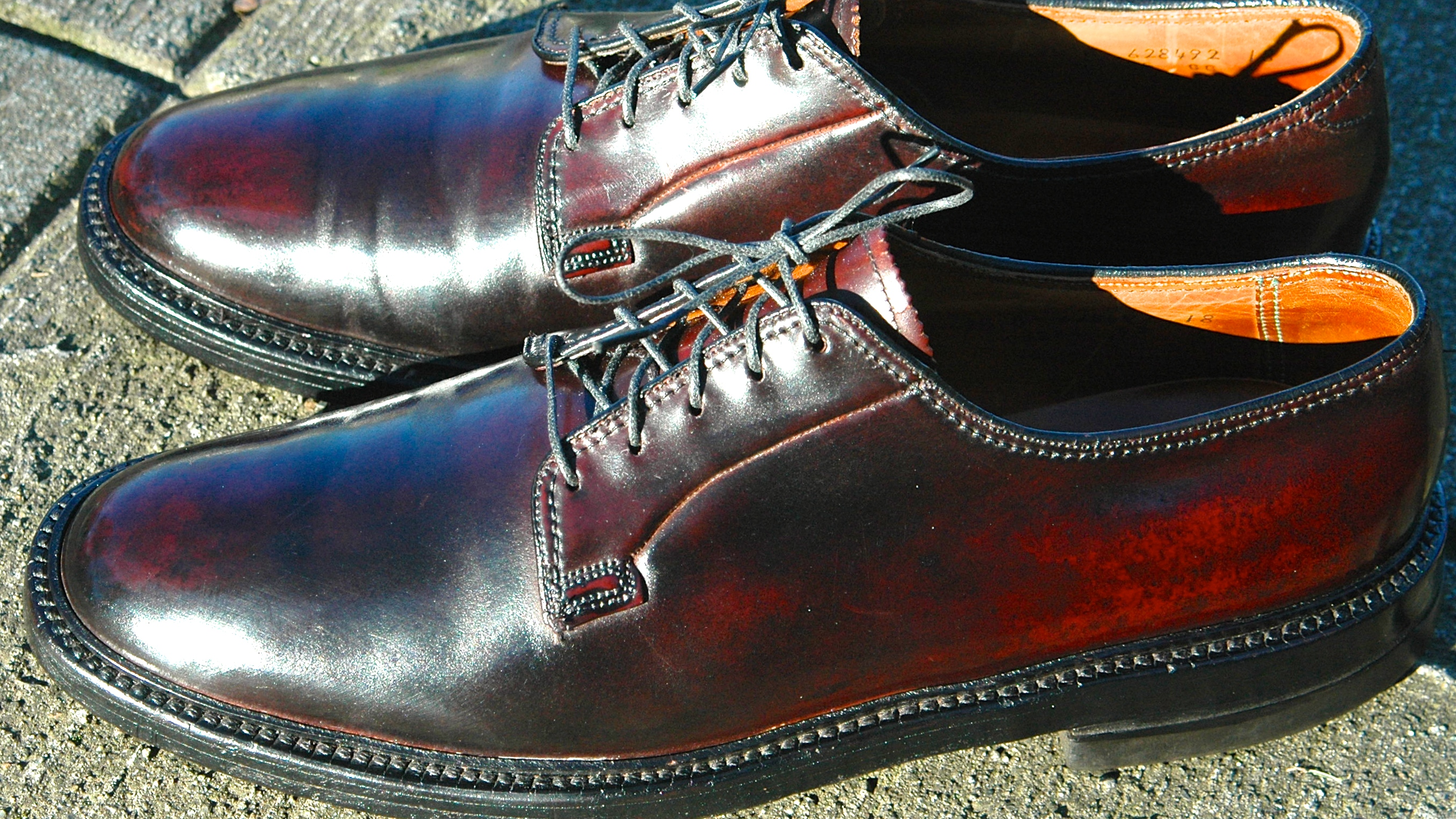 Shell Cordovan Dress Shoes