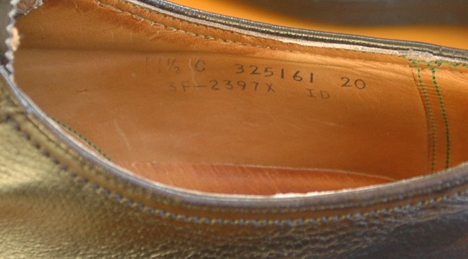 Florsheim Imperial model number