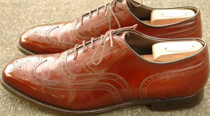 Johnston & Murphy Crown Aristocraft wingtip Conley