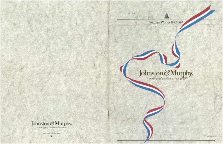1992 Johnston Murphy Catalog
