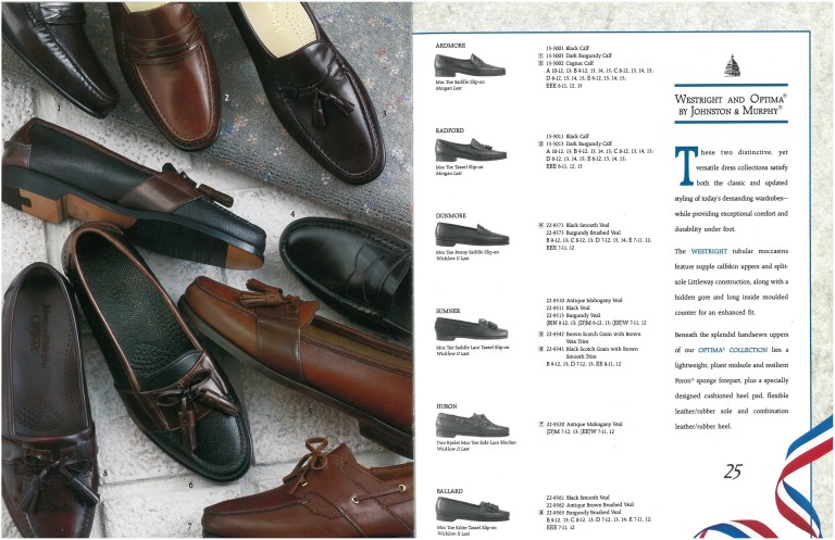 1992 Johnston Murphy Catalog