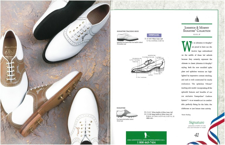 Johnston & Murphy Golf Shoes