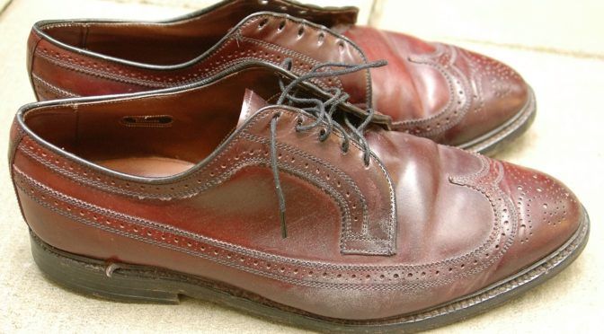Dirty Shell Cordovan shoe