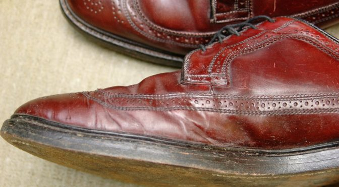 Creased Shell Cordovan