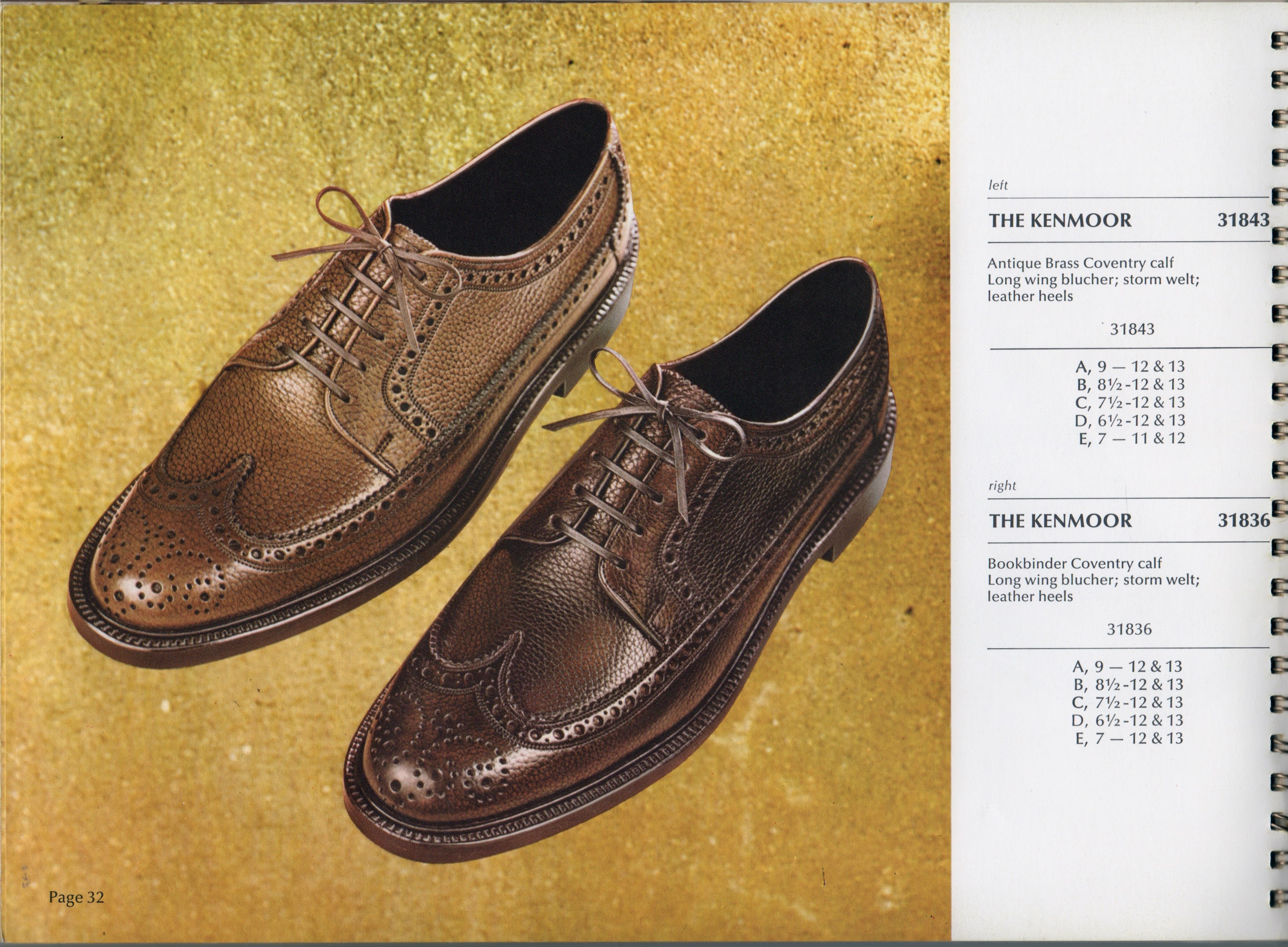 Florsheim 31836 1969 catalog