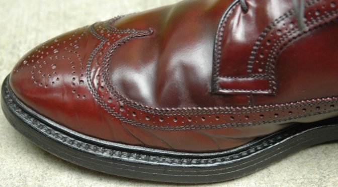 Allen Edmonds Shell Cordovan