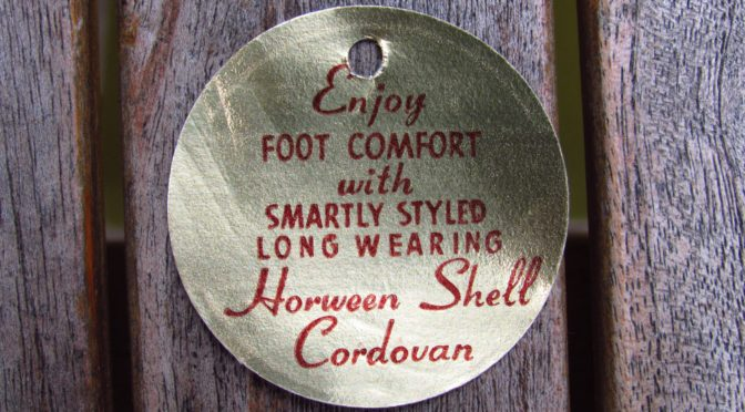 Vintage Horween Shell Cordovan