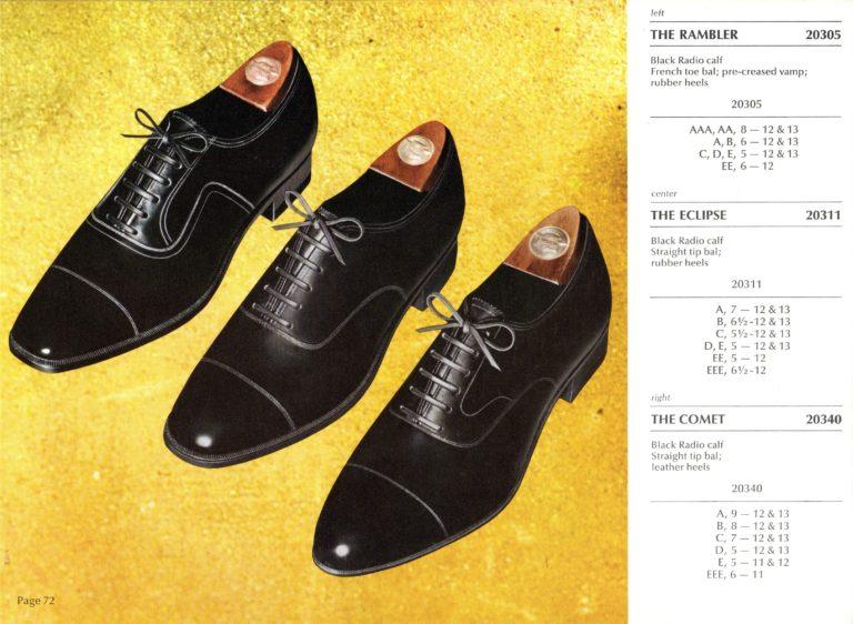 1969 Florsheim Catalog 20305 20311 20340